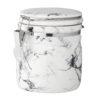 Marble Porcelain Jar