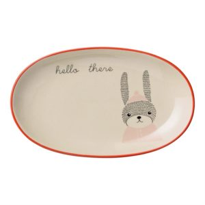 Mollie plate hello there