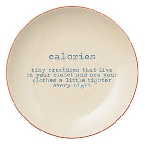 carla plate calories