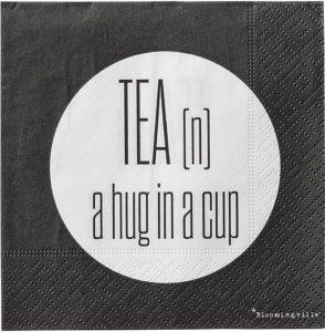 tea hug napkin